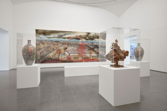 Grayson Perry, The Most Popular Art Exhibition Ever! installation view, Serpentine Gallery, London, 8 June – 10 September 2017. Image © 2017 Robert Glowacki.