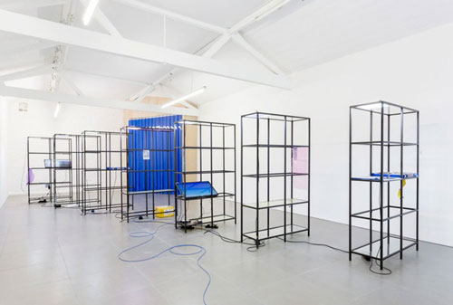 Yuri Pattison. Free traveller, 2014. Cell Project Space.