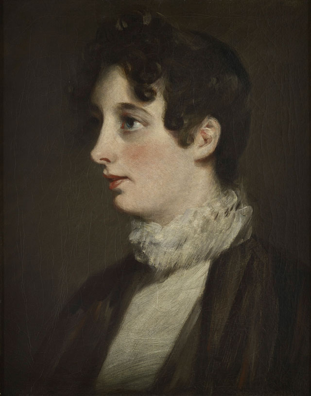 John Constable. Portrait of Laura Moubray, 1808. Oil on canvas, 44.5 × 35.5 cm. Scottish National Gallery. © National Galleries of Scotland.