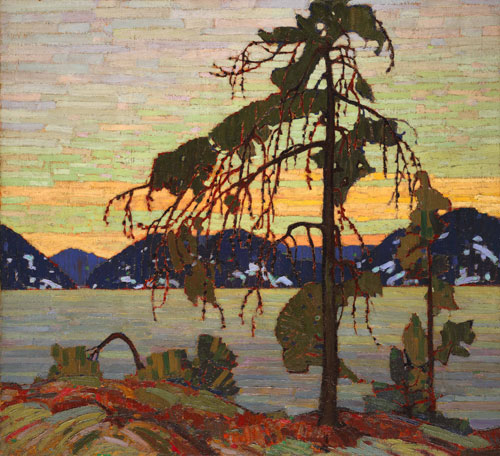 Tom Thomson. <em>The Jack Pine</em>, 1916–17. Oil on canvas,          127.9 x 139.8 cm.        National Gallery of Canada, Ottawa. Photo © NGC.