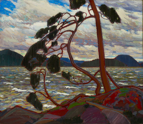 Tom Thomson. <em>The West Wind</em>, 1917.        Oil on canvas, 120.7 x 137.2 cm.      © Art Gallery of Ontario.