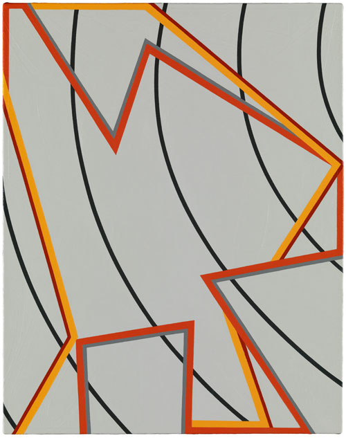 Tomma Abts. Jeels, 2012. © Tomma Abts, Courtesy Galerie Buchholz, Berlin/Cologne.