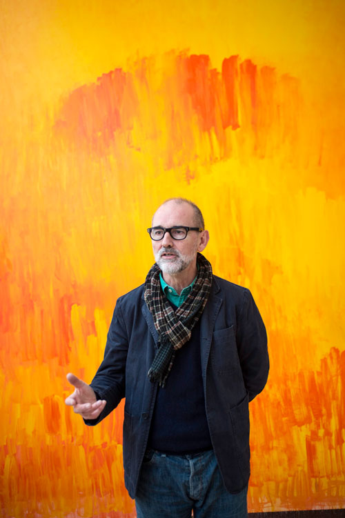 Christopher le Brun. Photograph: Nick Howard.