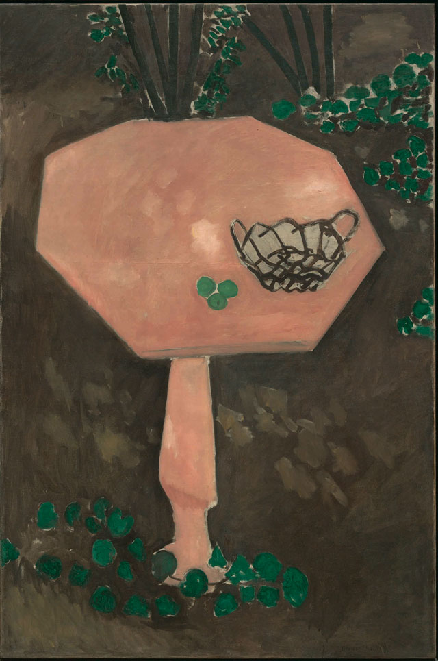 Henri Matisse. The Rose Marble Table, Issy-les-Moulineaux, spring-summer 1917. Oil on canvas, 146 x 97 cm. The Museum of Modern Art, New York. Photograph © 2015. Digital image, The Museum of Modern Art, New York/Scala, Florence / © Succession H. Matisse/ DACS 2015.