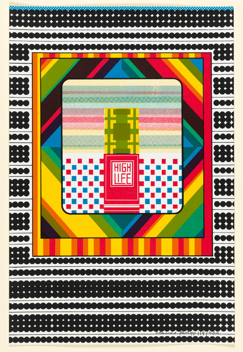 Eduardo Paolozzi. High Life from Moonstrips Empire News Volume 1, 1967, screenprint. © The Trustees of The Paolozzi Foundation.