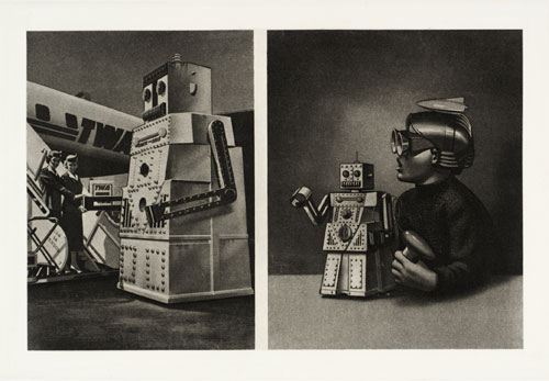 Eduardo Paolozzi. <em>From Cloud Atomic Laboratory</em> c. 1971. Etching on paper. Copyright © Tate, London 2009.