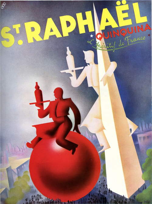 Advertisement for St. Raphaël aperitif in L'Illustration, June 10, 1939. Private collection