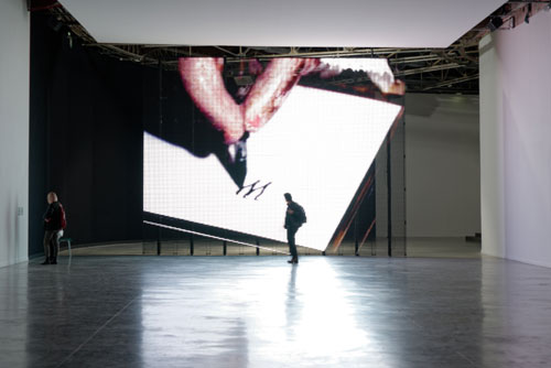 Philippe Parreno. TV Channel, 2013 (detail). Courtesy Pilar Corrias Gallery.