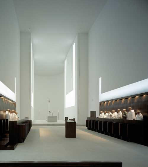 John Pawson. <em>Monastery of Our Lady of Novy Dvur,</em> Czech Republic. Photo Hisao Suzuki