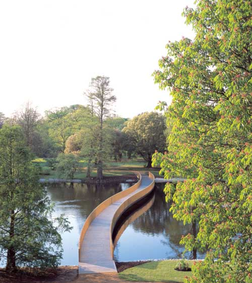 John Pawson. <em>Sackler Crossing</em>. Royal Botanic Gardens, Kew, London. Photo Richard Davies