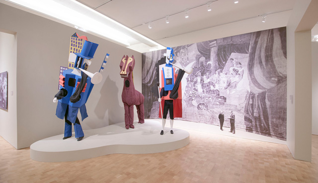 Installation view of Picasso: The Great War, Experimentation and Change, 2016. Image © 2016 The Barnes Foundation.