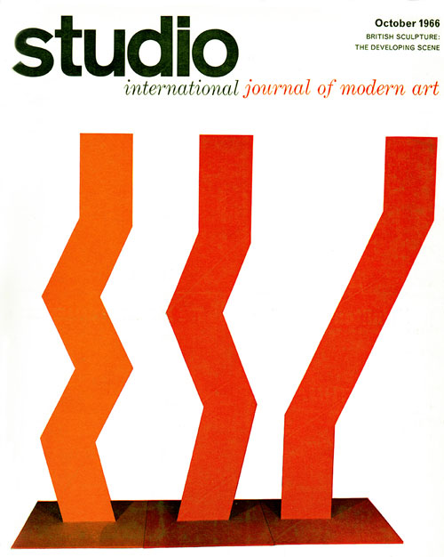 Studio International, October 1966.
