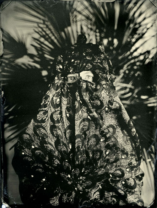 Lucía Pizzani. Impronta Series, 2013. Julia. Wet collodion photography on aluminium plates, 13 x 9 cm.