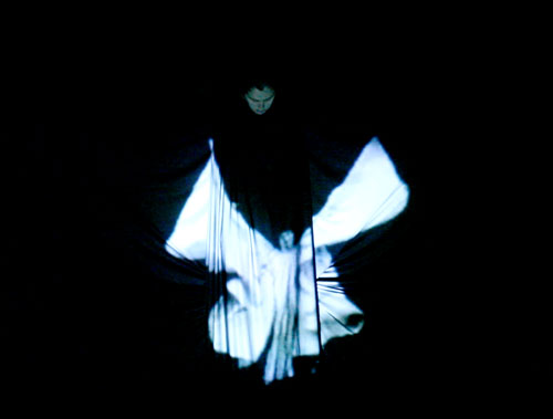 Lucía Pizzani. Noctura II ‐ Homage to Loie Fuller, 2013. Single-channel video, 1min 52s (video still).