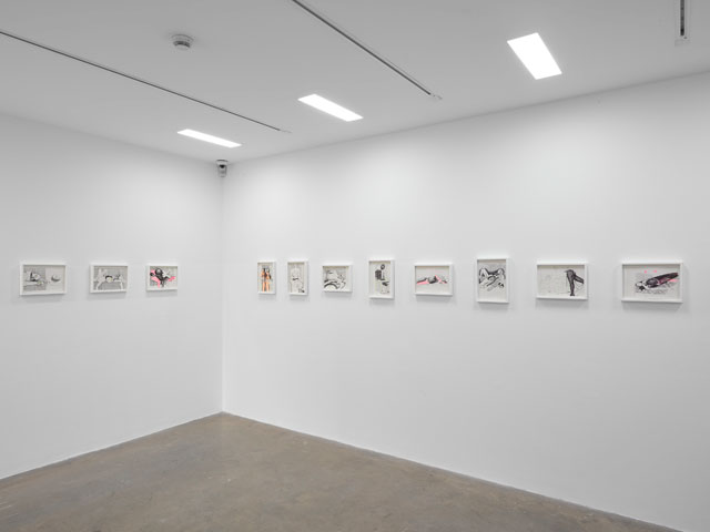 Magnus Plessen. The Skin of Volume, installation view, White Cube Mason's Yard, London, 4 November 2016 - 14 January 2017. © Magnus Plessen. Photograph © White Cube (George Darrell).