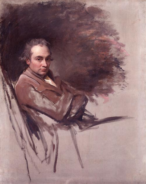 George Romney, <em>Self-Portrait,</em> begun 1784. Oil on canvas. National Portrait Gallery, London