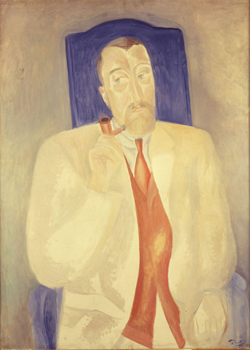 André Derain (1880-1954). Portrait of Paul Poiret. Musée de Grenoble, France. Photograph courtesy of Bridgeman Art Library / Peter Willi © 2007 Artists Rights Society (ARS), New York / ADAGP, Paris