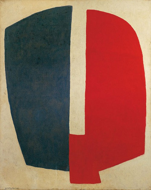 Serge Poliakoff. Composition abstraite, 1968. Oil on canvas, 63 2/3 x 51 1/4 in (162 x 130 cm). © Poliakoff Estate. Courtesy Timothy Taylor Gallery, London.