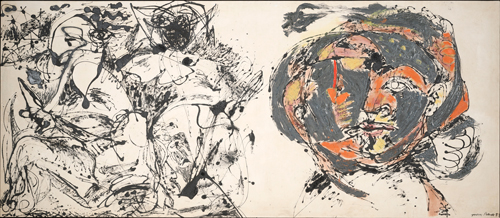 Jackson Pollock. Portrait and a Dream, 1953. © The Pollock-Krasner Foundation ARS, NY and DACS, London 2015.