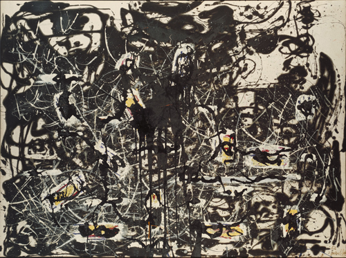 Jackson Pollock. Yellow Islands, 1952. © The Pollock-Krasner Foundation ARS, NY and DACS, London 2015.