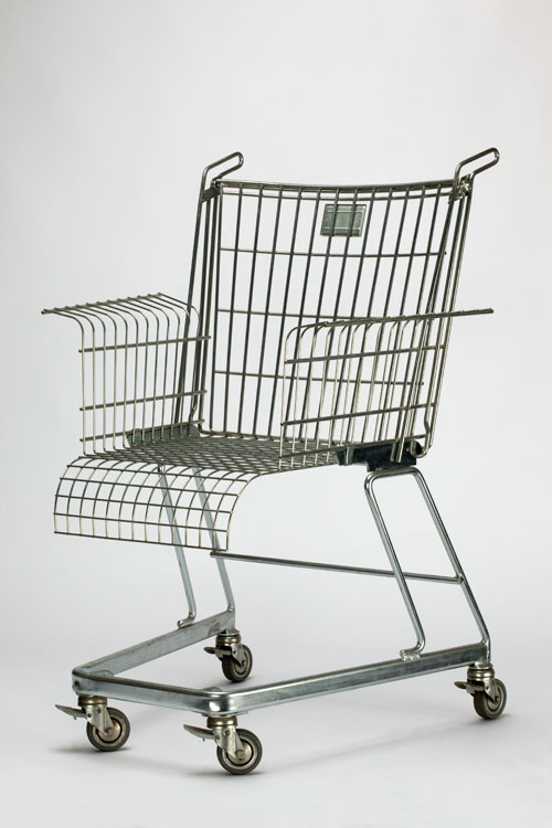 <p>Frank Schreiner (for Stiletto Studios). <em>Consumer's Rest chair,</em> 1990. © Victoria and Albert Museum, London.
