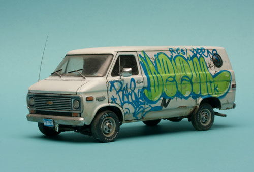 Shauna Richardson. <em>Miniature Chevy van</em>. © Shauna Richardson.