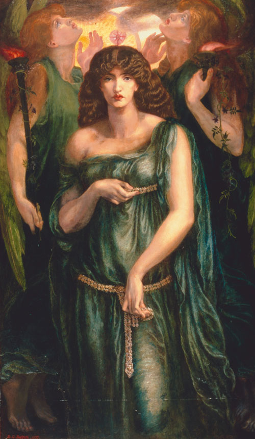 Dante Gabriel Rossetti. Astarte Syriaca, 1877. Copyright Manchester City Galleries.