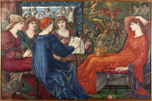 Edward Burne-Jones. Laus Veneris, 1873-8. Laing Art Gallery, Newcastle upon Tyne.
