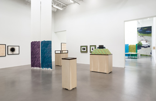 Stephen Prina, galesburg illinois+ (installation view 6), Petzel Gallery, 2016. Courtesy of the artist and Petzel, New York.