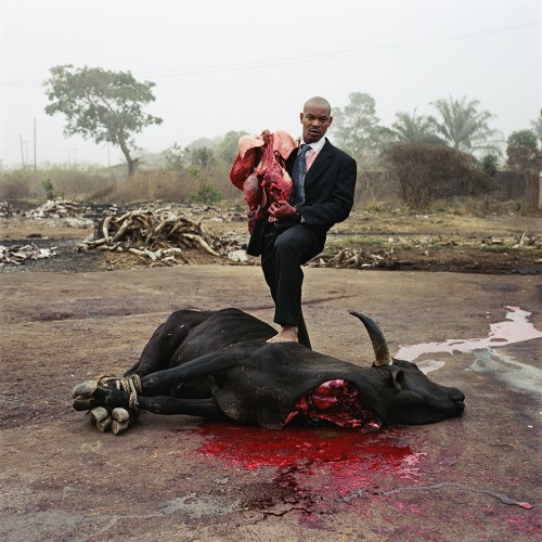 Gabazzini Zuo. Enugu, Nigeria (from the Nollywood series), 2008. C-print, 60 × 60 in (152.4 × 152.4 cm).