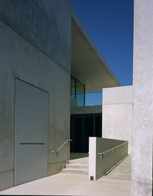 Pulitzer Building, front entrance: Pulitzer Arts Foundation. Photograph: Robert Pettus.