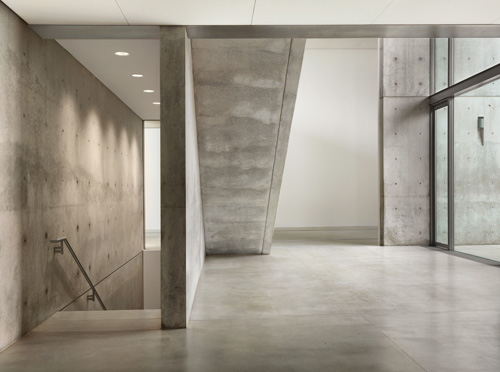 Watercourt entry, Pulitzer Arts Foundation. Photograph: Alise O'Brien Photography.