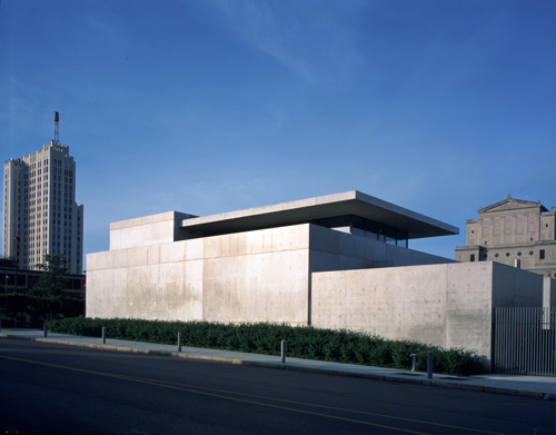 Pulitzer Building: Pulitzer Arts Foundation. Photograph: Robert Pettus.