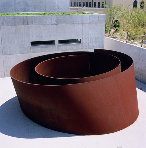 Richard Serra. Joe, 1999. Pulitzer Arts Foundation. Photograph: Robert Pettus.