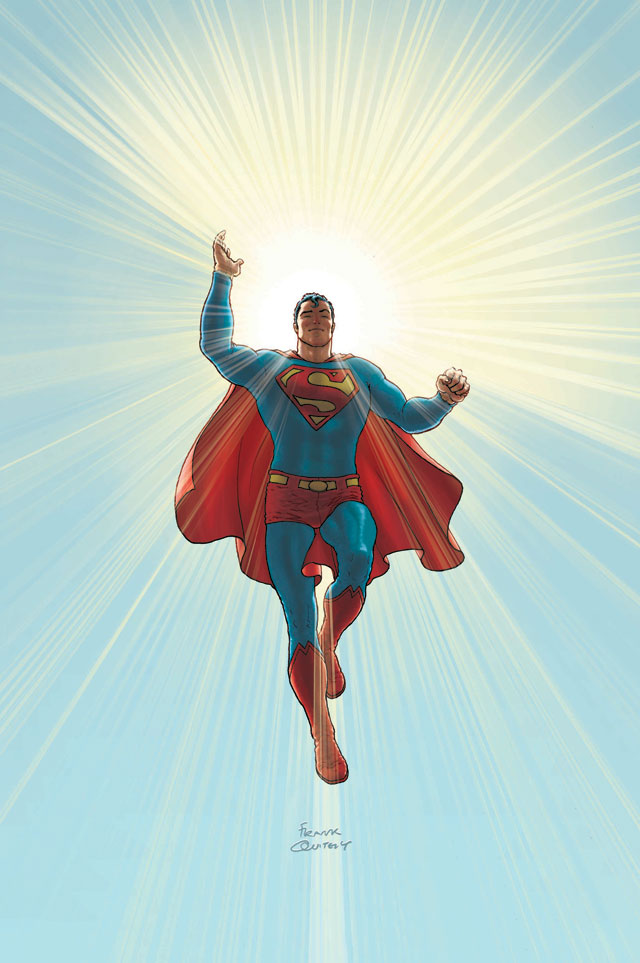 Absolute All Star Superman. DC Entertainment. Artwork by Frank Quitely.