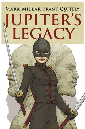 Jupiter's Legacy cover, Vol 2, Issue 1. Artwork by Frank Quitely.