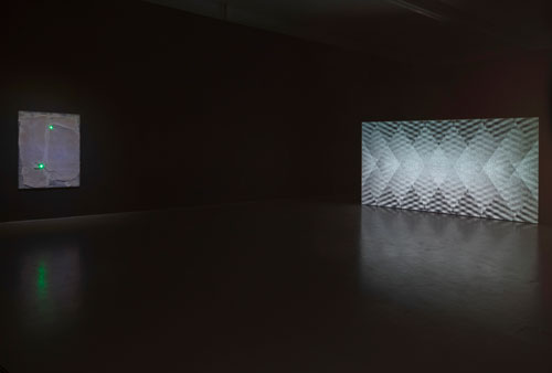 Florian and Michael Quistrebert. Visions of Void, 2015. Installation view (1). Photograph: Ruth Clark. Courtesy of Dundee Contemporary Arts.