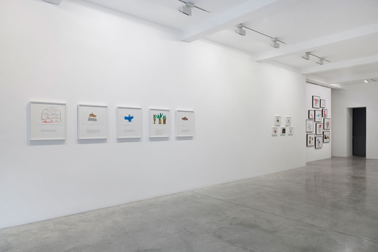 Christine Rebet: Time Levitation, installation view, Parasol unit, London, 2020. Photo: Benjamin Westoby. Courtesy the artist and Parasol unit foundation for contemporary art.