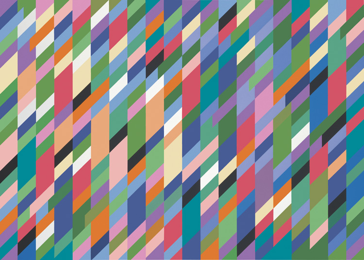 Bridget Riley. High Sky, 1991. © Bridget Riley 2019. All rights reserved.