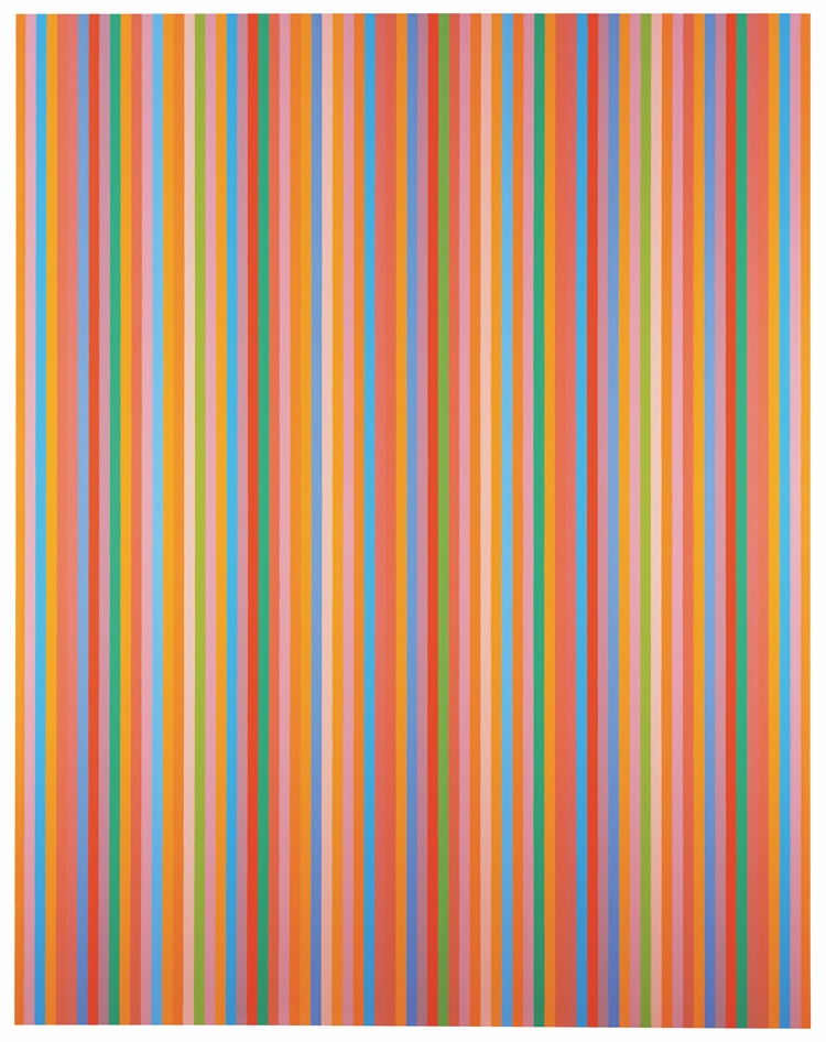 Bridget Riley. Aria, 2012. © Bridget Riley 2019. All rights reserved.