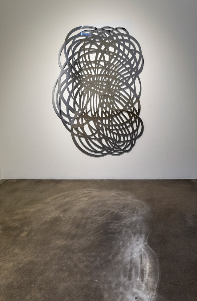 Linda Fleming: Allusion, installation view of Gossamer, Robischon Gallery 2019. Image courtesy Robischon Gallery.