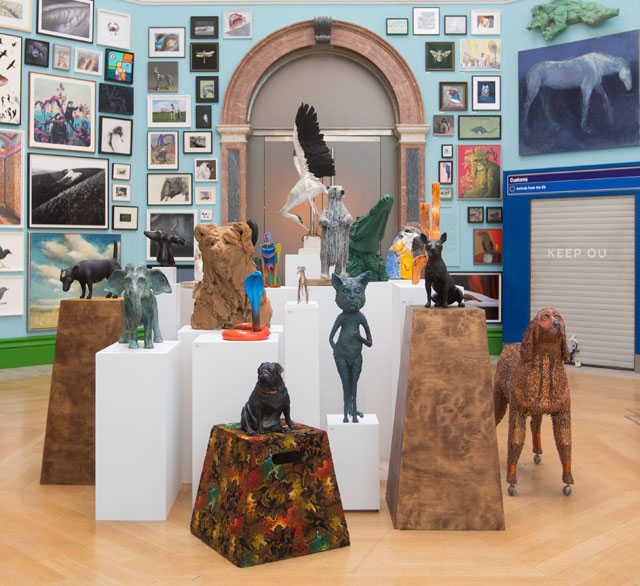 Installation view, Wohl Central Hall, Royal Academy Summer Exhibition 2019. Photo: © David Parry/ Royal Academy of Arts.