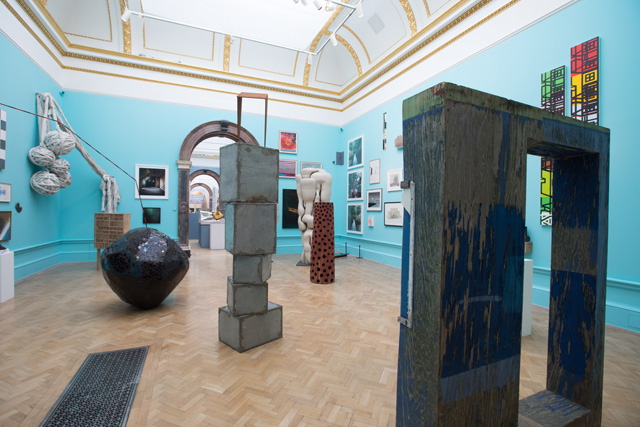 Gallery view of the 250th Summer Exhibition, Royal Academy of Arts, London (12 June — 19 August 2018). © Royal Academy of Arts. Photography: David Parry.