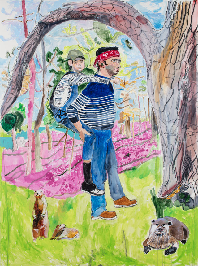 Paula Rego. Across the Forest, 2017. Courtesy Marlborough Fine Art.