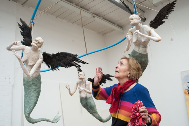Paula and The Flying Mermaids. Image courtesy of Nick Willing.