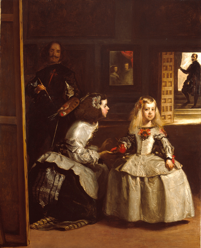 John Phillip. Partial copy of Las Meninas, 1862. Oil on canvas, 185 × 148 cm. © Royal Academy of Arts, London.
