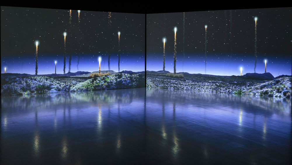 The barren, dystopian landscapes of Kelly Richardson's audiovisual installations are hypnotically beautiful, recalling sci-fi and Romanticism, and issuing a subtle call to arms over the catastrophic effects of climate change