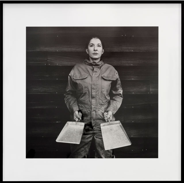 Marina Abramović. The Cleaner. Fine art pigment print on Hahnemühle paper, 139 x 139 cm. © Marina Abramović. Courtesy Lisson Gallery. Photograph: Dawn Blackman.