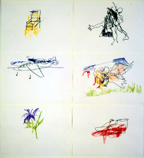 Hussein Chalayan, <i>Untitled (Chair, Girl, Plane, Bird, Flower, Shoe)</i>. 