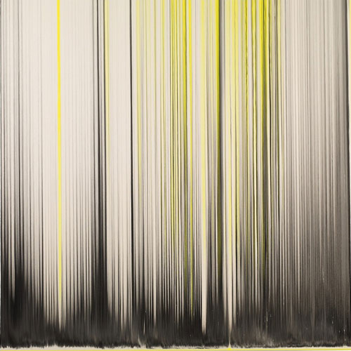 Rachel Howard. <em>Fear of Madness</em>, 2011. Household gloss, acrylic and oil on canvas 78 x 78 in (198.1 x 198.1 cm). Image courtesy of the artist and Blain|Southern.
